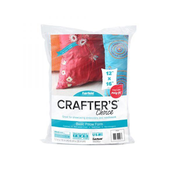 """Crafter's Choice pillow insert 12"""" x 16"""""""