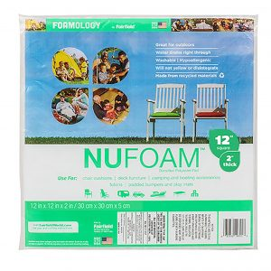 NuFoam Densified Batting cushion