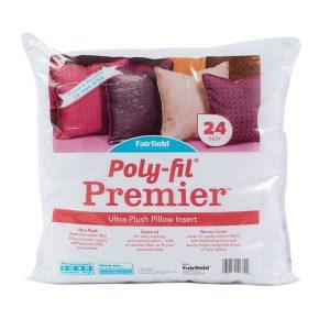 """Poly-fil Premier 24"""" pillow insert"""