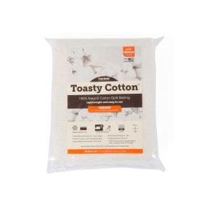 """Toasty Cotton Batting folded 72"""""""